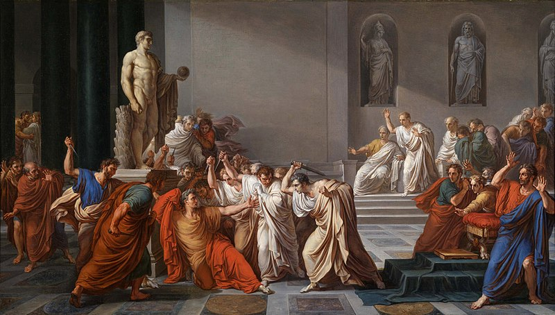 Great Caesar's ghost! Ornot…