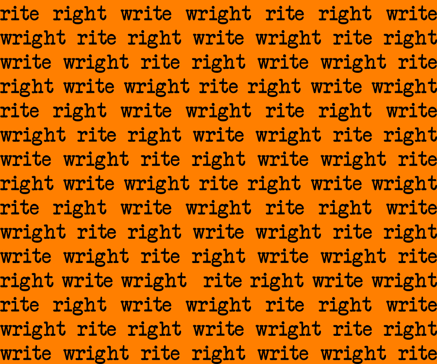 Playwrights write down rites justright