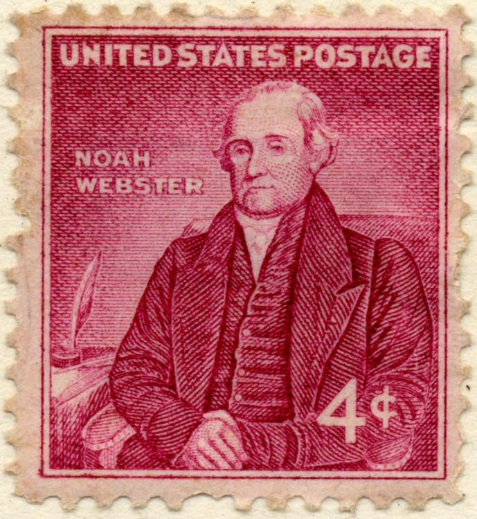 Talky Tuesday: Noah Webster explains it all