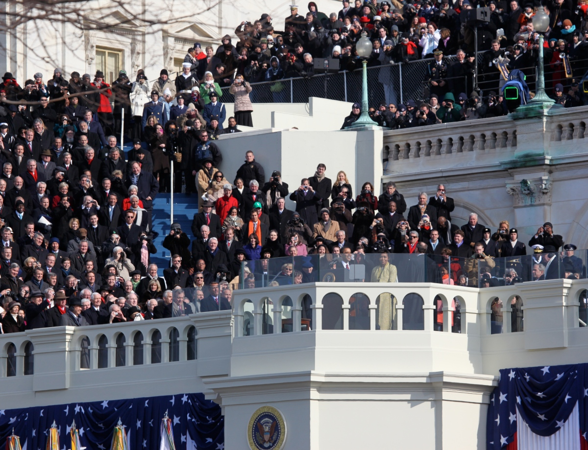 Five interesting inauguration days